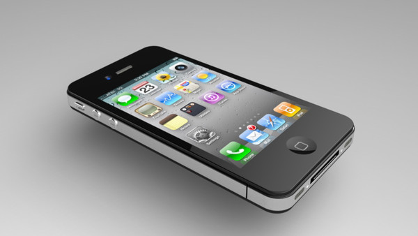 free iphone 4 3d model - iPhone 4... by saeedkazemi