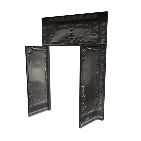 victorian glass metal door 3d model - Victorian Glass Metal Door... by Etwin