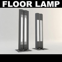 office floor lamp 3d model