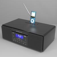roberts ipod dock nano 3d model