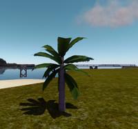small palmtree 3d max