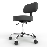 ergonomic stool height adjustment 3d max