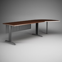 office desk 23 3d c4d