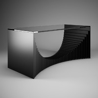 3d model office desk 42