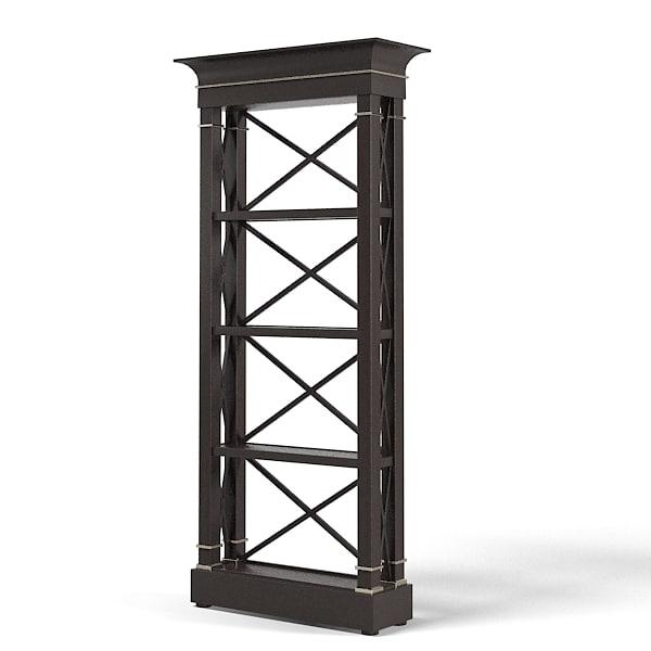 etagere cabinet art 3d 3ds. Black Bedroom Furniture Sets. Home Design Ideas