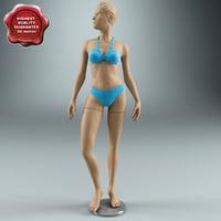 female mannequin max