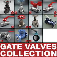 Gate Valves Collection V4