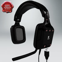 Headphones Logitech G35