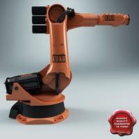 3d model kuka robot kr 100-3