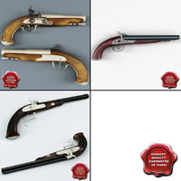 Old Musket Pistols Collection