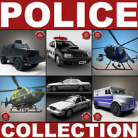 Police Vehicles Collection V2