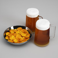 CGAxis Potato Chips & Beer 24