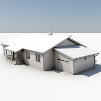 3ds max story house
