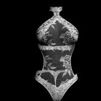 sexy bikini 3d model