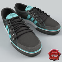 adidas sneakers nizza 3d model
