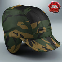 3d camouflage field hat