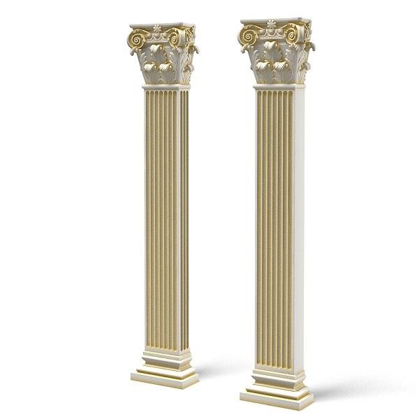 Decorative Kitchen Columns