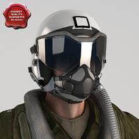 military pilot v4 static 3d 3ds