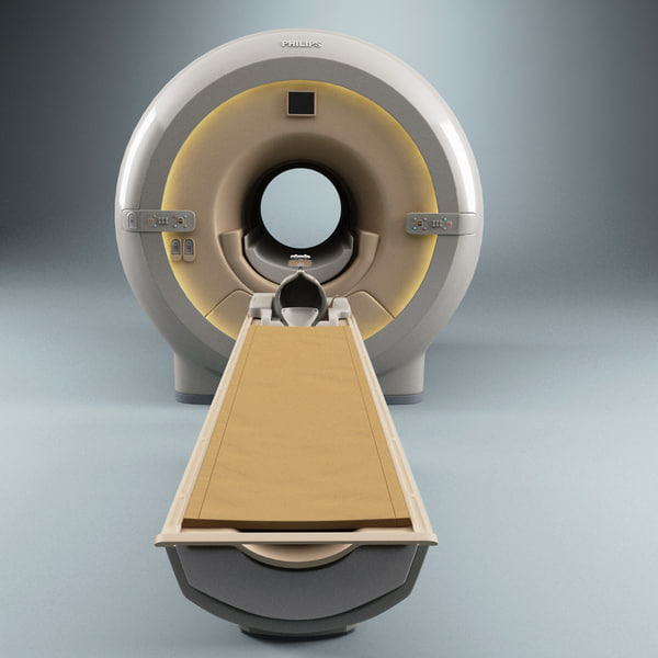 3ds max philips ct scanner mri - Philips CT Scanner MRI ATX... by 3d_molier