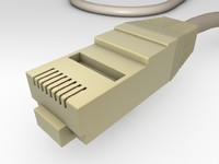 3dsmax rj45 plug