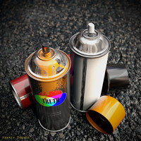 3d spray paint