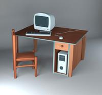 3dsmax cartoon computer