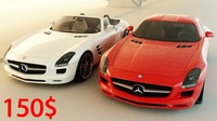 Mercedes Benz SLS AMG collection