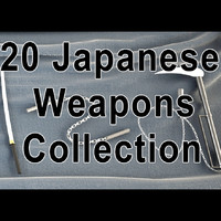 20 Japanese weapons collection