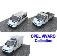 3d model opel vivaro
