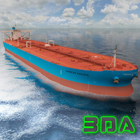 Oil tanker ship 300000DWT Maersk