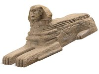 sphinx landmark 3d model