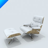 3ds max lounge chair eames