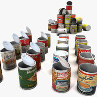 Tin Cans Labels Collection