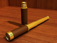 spy glass spyglass 3d model