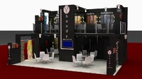 maya fair display expo stand