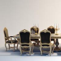 max angelo baroque style dinig
