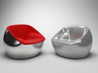 3d model of arflex ball seat