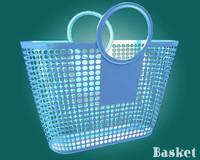max plastic basket