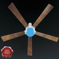 3d model ceiling fan v1