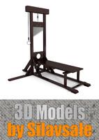 guillotine 3d model