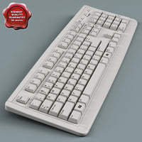 Keyboard Low Poly