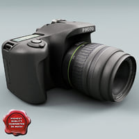 Low Poly Photo Camera V3