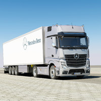 Mercedes Actros 2011 with trailer