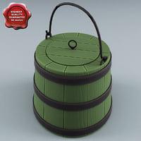 3d old bucket model
