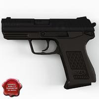 max pistol heckler koch usp