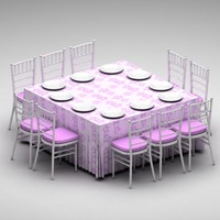 max table chairs set