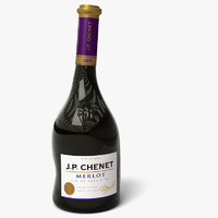 wine bottle 3 3d 3ds