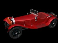 3d model of alfa romeo