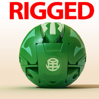 Bakugan Green Dragon