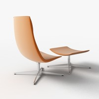 catifa 70 lounge chair 3d model